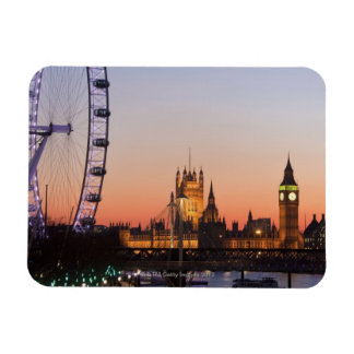 Houses of Parliament & the London Eye Magnet