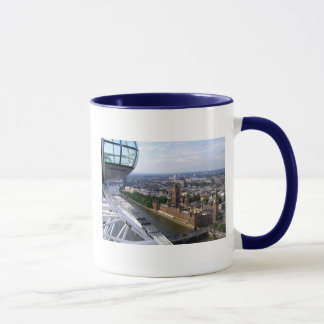 Houses of Parliament view from the London Eye Mug
