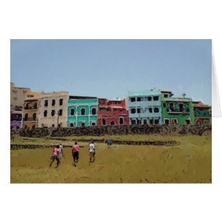 Houses of San Juan, Puerto Rico Greeting Card