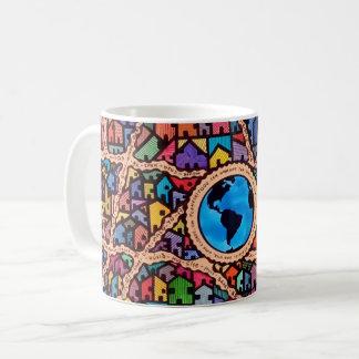 Houses of the World Coffee Mug