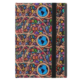 Houses of the World iPad Mini Cover