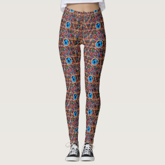 Houses of the World Leggings