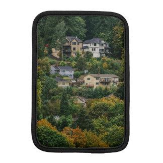 Houses on the hill iPad mini sleeve