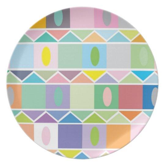 Houses Plate