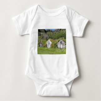 Houses with grass roof t shirt