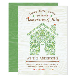 Housewarming Home Party Invitation