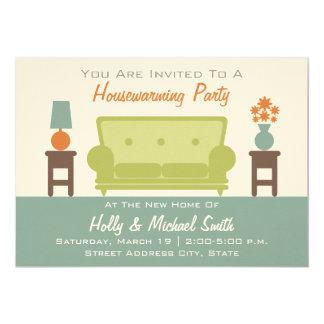 Housewarming Party Invitation - Living Room Sofa