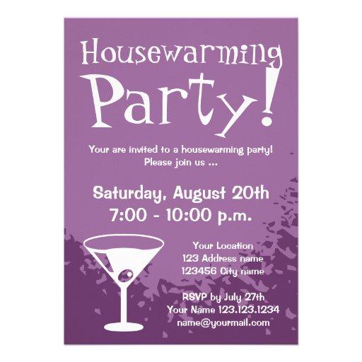 Housewarming party invitations custom invites zazzle for Zazzle custom t shirts