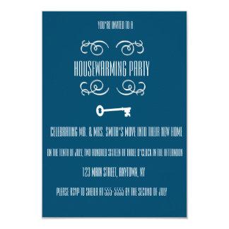 Housewarming Party Key Invitations
