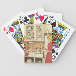 Housewife Bicycle Playing Cards