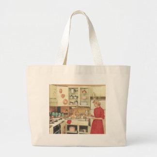 Housewife Large Tote Bag