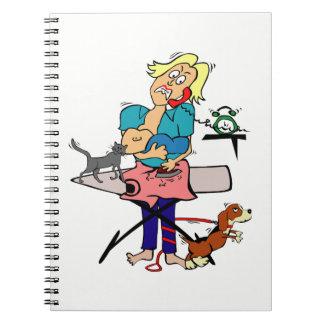 Housewife Spiral Notebook