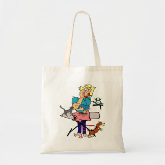 Housewife Tote Bag