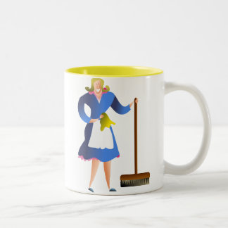 Housewife Two-Tone Coffee Mug