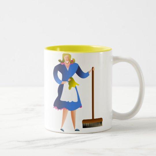 Housewife Two-Tone Coffee Mug