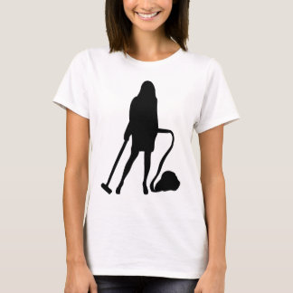 housewife - vacuum cleaner - cleaning T-Shirt