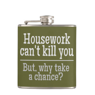 HOUSEWORK custom color flask