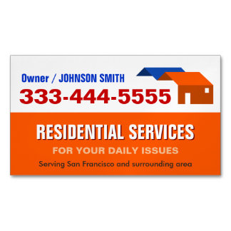 Housing and Residential Services Fridge Magnet
