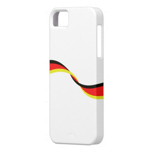 Housing for mobile with German flag iPhone 5/5S Case