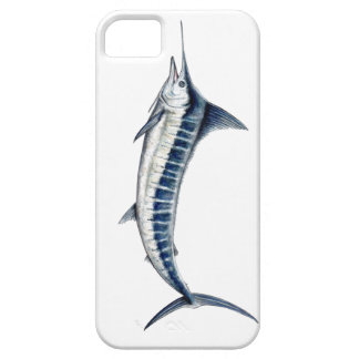 Housing of blue mobile marlin iPhone 5 cases