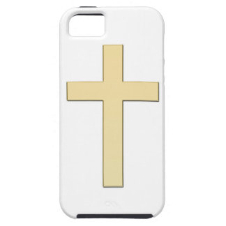 Housing of mobile with gold cross cover for iPhone 5/5S