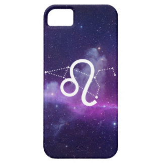 Housing the Leo Zodiac (Violet) iPhone 5 Covers
