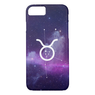Housing the Zodiac Taurus (Violet) iPhone 8/7 Case