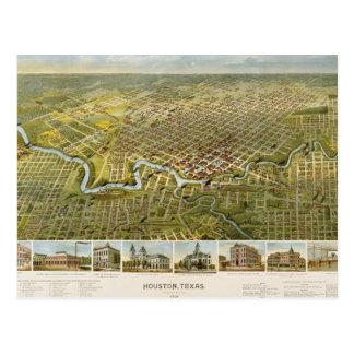 Houston 1891 cartes postales