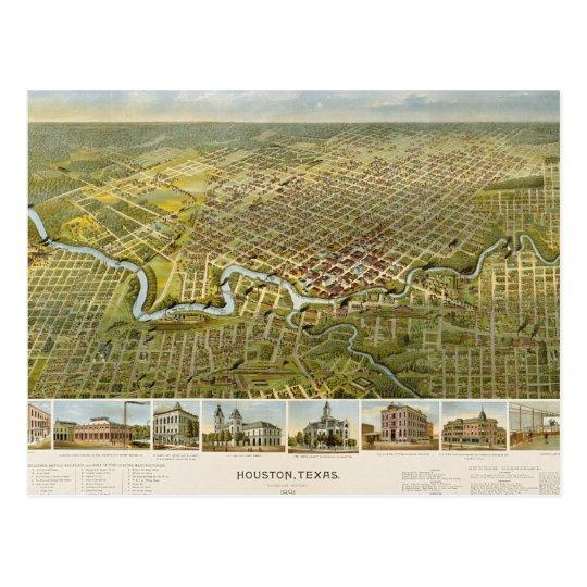 Houston 1891 postcard