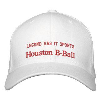 Houston B-Ball Embroidered Hats