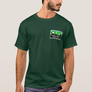 Houston CERT Long Sleeve (green) T-Shirt