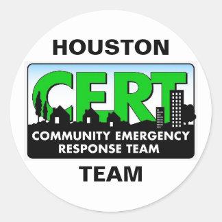 Houston CERT Sticker