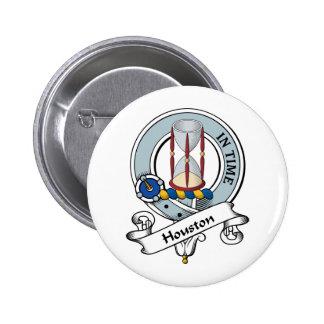 Houston Clan Badge 2 Inch Round Button