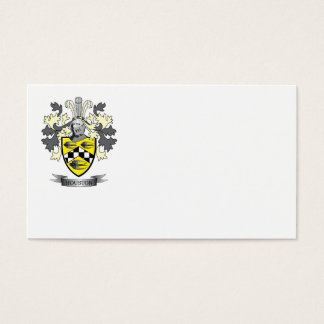 Houston Family Crest Coat of Arms Business Card