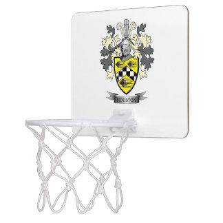 Houston Family Crest Coat of Arms Mini Basketball Hoop