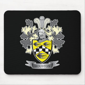 Houston Family Crest Coat of Arms Mouse Pad