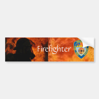 Houston Fire Department Bumper Sticker