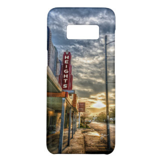 Houston Heights 19th Street Vintage Theater Unique Case-Mate Samsung Galaxy S8 Case