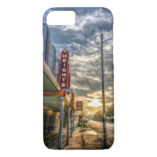 Houston Heights 19th Street Vintage Theater Unique iPhone 8/7 Case