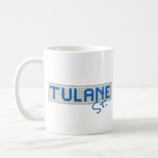 Houston Heights Tulane Street Coffee Mug