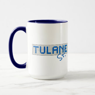 Houston Heights Tulane Street Two Tone Mugs