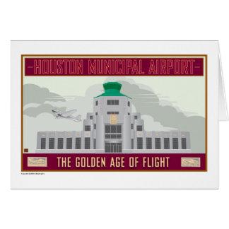 Houston Municipal Airport-Card Card