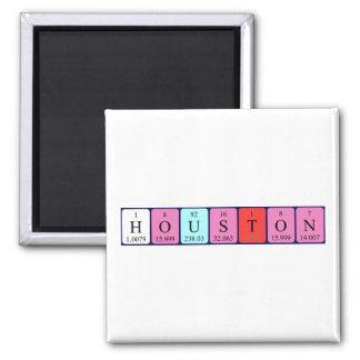 Houston periodic table name magnet