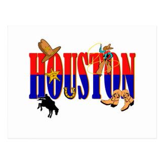 Houston Pics Postcard