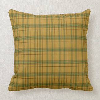 Houston Scottish Family Tartan Pillow