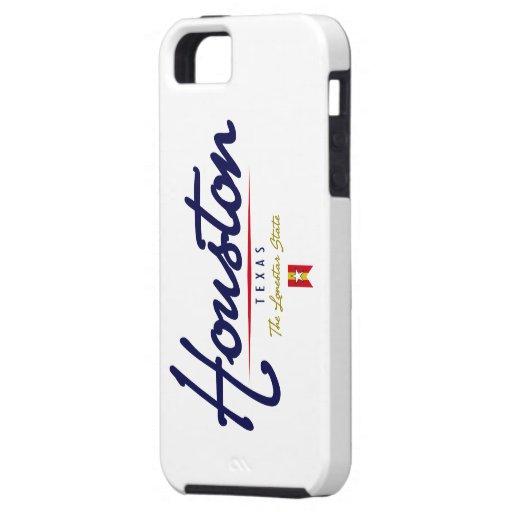 Houston Script iPhone 5 Covers