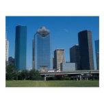 Houston skyline, Texas, U.S.A. Post Card