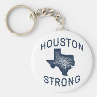 Houston Strong - Harvey Flood Relief Keychain
