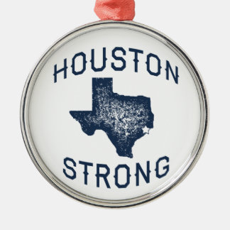 Houston Strong - Harvey Flood Relief Metal Ornament