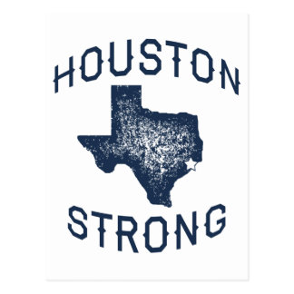 Houston Strong - Harvey Flood Relief Postcard